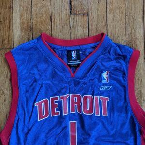 Pistons Chauncey Billups Youth Jersey (Large)